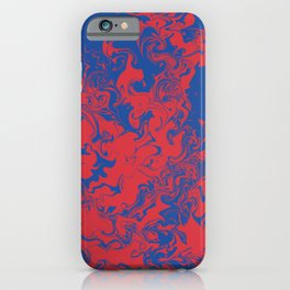 American University Tie Dye  iPhone Case