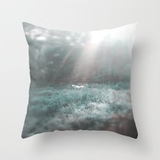 Pale Horse 2 Throw Pillow