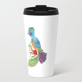 The Blue Quetzal Travel Mug