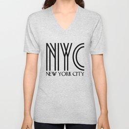 NYC - New York City Unisex V-Neck