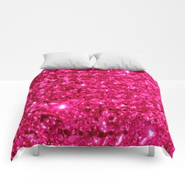 SparklE Hot Pink Comforters