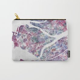 Saint Petersburg map Carry-All Pouch