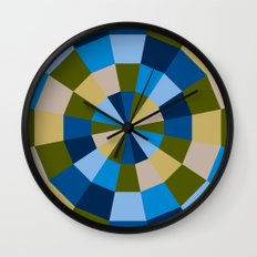 A breeze of Greece Wall Clock