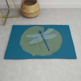 Dragonfly Magic Rug