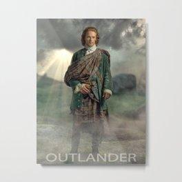 Jamie fraser outlander Metal Print