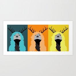 look to the sun Art Print