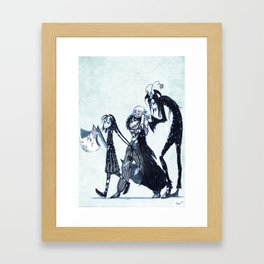 Sophia and her Gang Framed Art Print