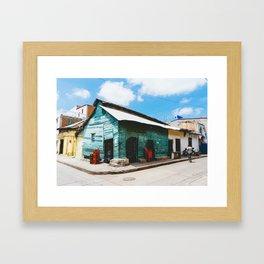 Cartagena, Colombia - Tienda Las Tablitas, Getsemani Framed Art Print