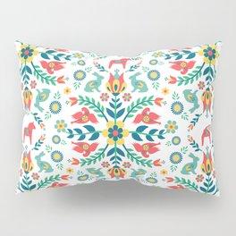 Swedish Folklore Pillow Sham