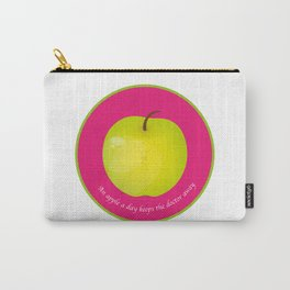 An apple a day keeps the Doctor away Carry-All Pouch