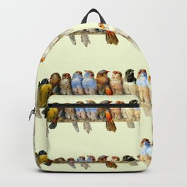 "Hector Giacomelli ""A Perch of Birds"" Backpack"