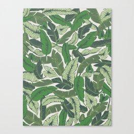 Savusavu Tropical Print Canvas Print