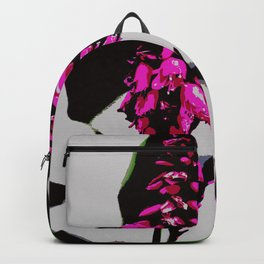 Pink beautiful flower Backpack