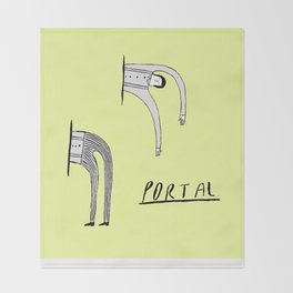 Portal Throw Blanket
