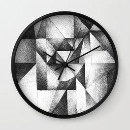 geometric Wall Clock