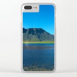 Icelandic nature Clear iPhone Case