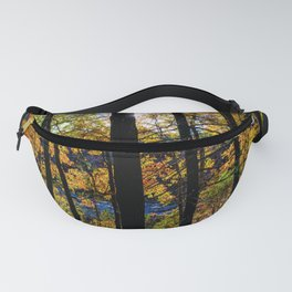 Walden Pond Autumn Forest  in Concord Massachusetts Fanny Pack