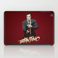 quentin tarantino iPad Cases featuring Quentin by CromMorc