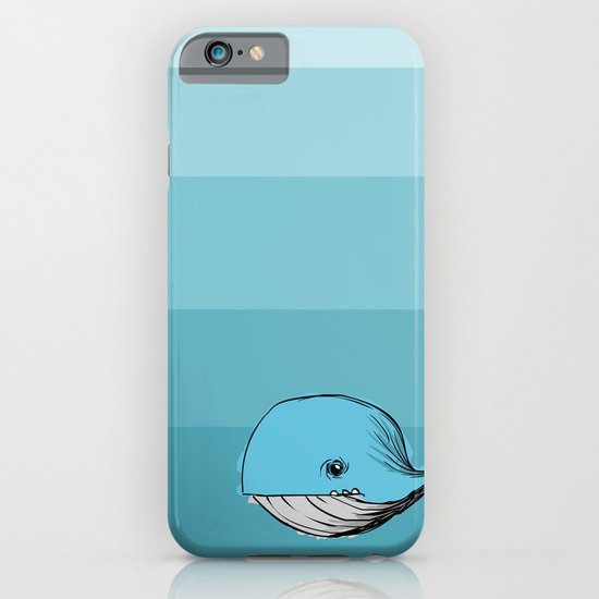 blue whale iPhone & iPod Case