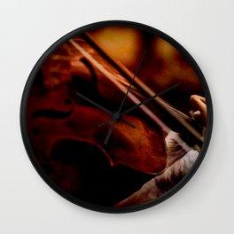 Lacrimosa Violinist Wall Clock