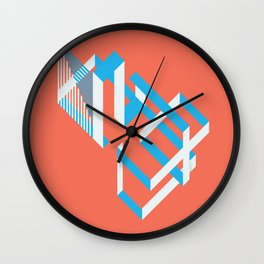 RWB Isorinth Wall Clock