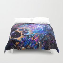 Transitory Cosmos Duvet Cover