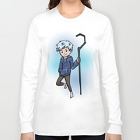jack frost Long Sleeve T-shirts featuring Jack Frost by Fenlaf