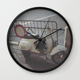 Scooter Italia Wall Clock