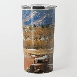 Autumn Jalopy Travel Mug