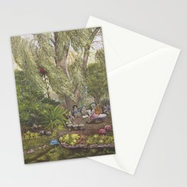Faerie Garden Letters Stationery Cards