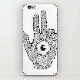 Baphomet's Hand iPhone Skin