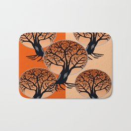 Fall Trees Bath Mat