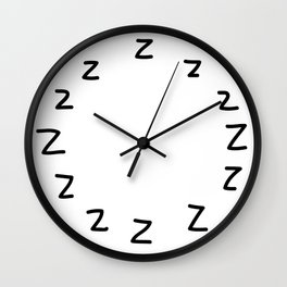 IT'S ALWAYS TIME FOR A NAP Wall Clock