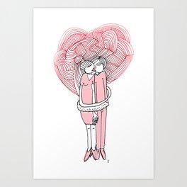 Guimauve Art Print