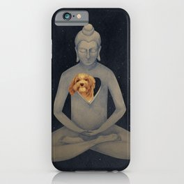 empty heart full iPhone Case