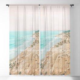 Eden #nature #digitalart #travel Sheer Curtain