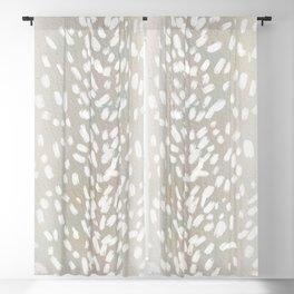 Antelope Print Blackout Curtain