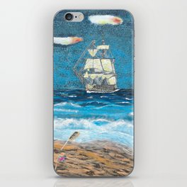 HMS Victory in paradise iPhone Skin