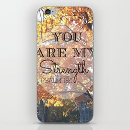 Stand Strong iPhone Skin