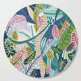 Jungle Pattern Cutting Board