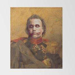 The Joker General Portrait | Fan Art (Personal Favorite) Throw Blanket