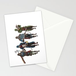 Pixel Assassins Stationery Cards