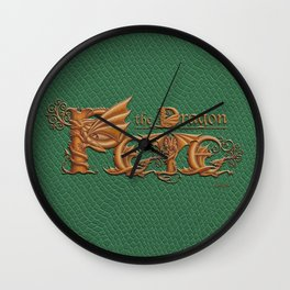 Pete, the Dragon Wall Clock