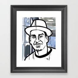 Pablo Framed Art Print