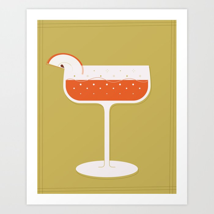 Bubbling Coupe Art Print