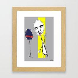 sens interdit  Framed Art Print