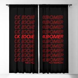 OK BOOMER Blackout Curtain