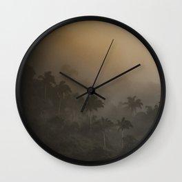 Tijuca Forest nº 18 Wall Clock