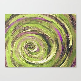 Spiral nature Canvas Print