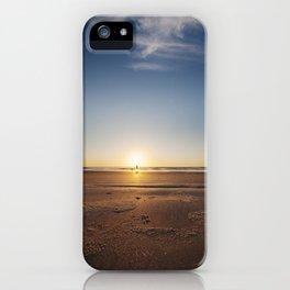 Beach Walk at Sunrise iPhone Case